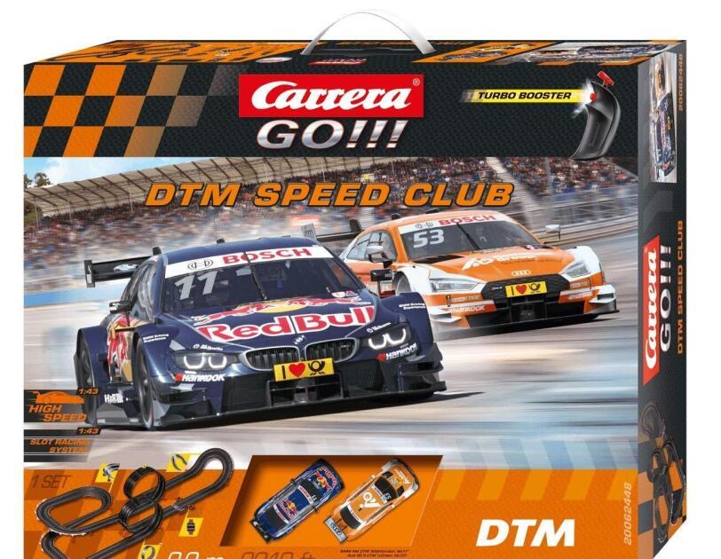 Abbildung Carrera DTM Speed Club, erhältlich auf Amazon.de.