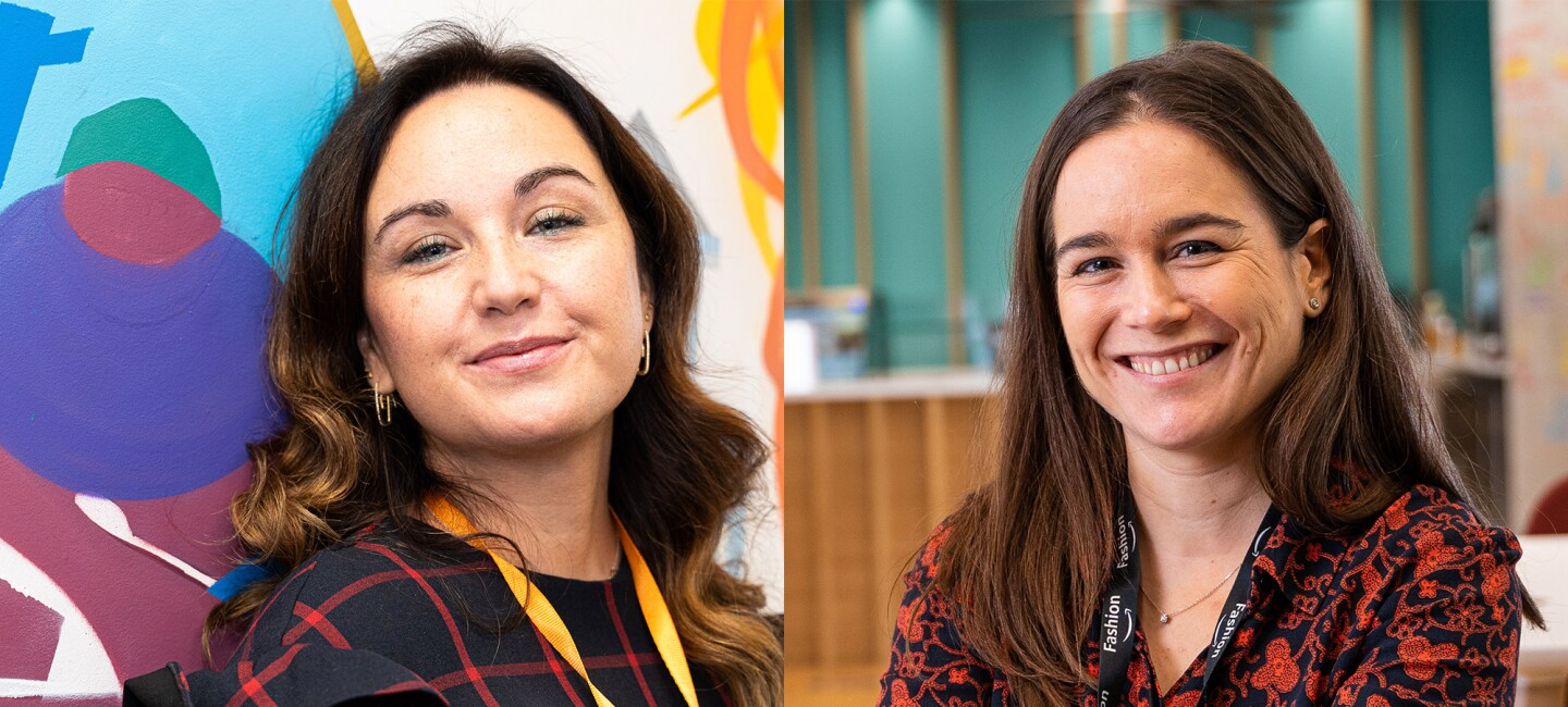 Elena Bris is part of a regulatory team for hazardous goods, and Lila Fernández is the head of fashion for Amazon Marketplace in Spain and Italy. For the last few years, they have also been Bar Raisers.
