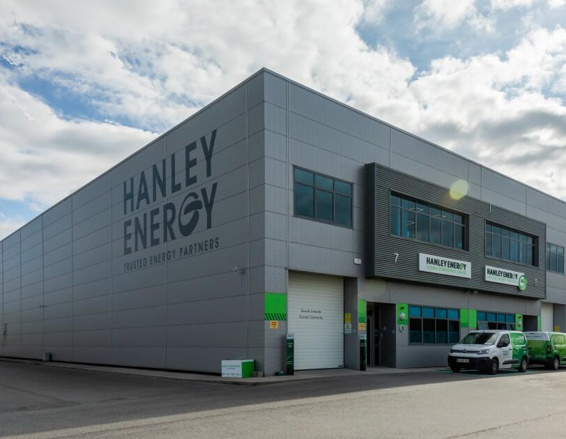 Photo of Hanley Energy building