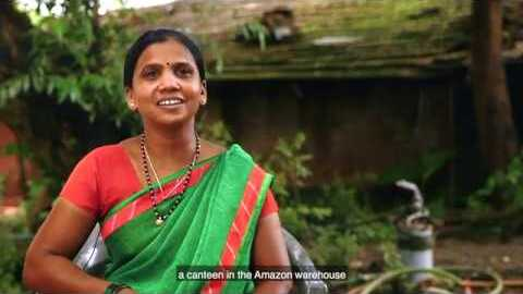Amazon Cares empowers the women of rural Maharashtra