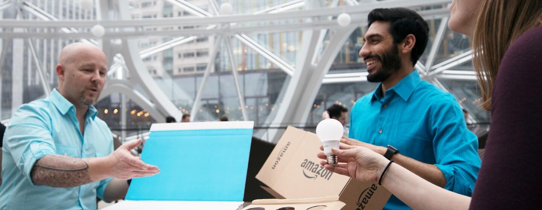 Warehouse bei Amazon