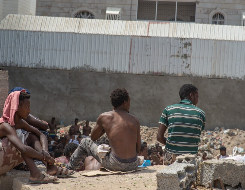 Migrants in Aden