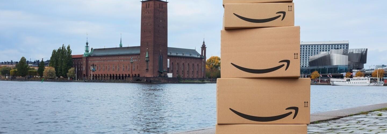 Amazon Sweden Launch Image