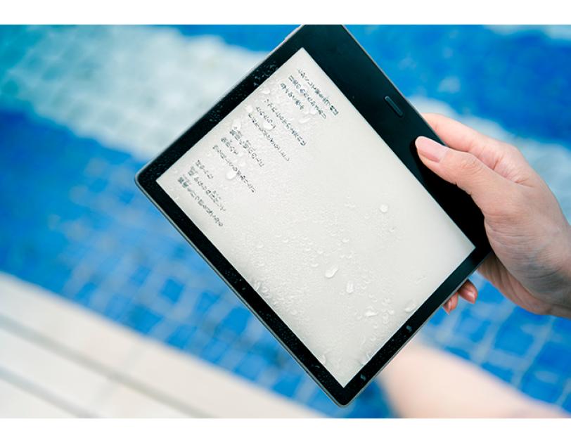 海&山へ旅の必需品、「Kindle Oasis」新モデルのメディア向け体験イベントを開催