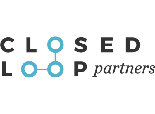 Logo of Closed Loop Partners, an Amazon Sustainability partner