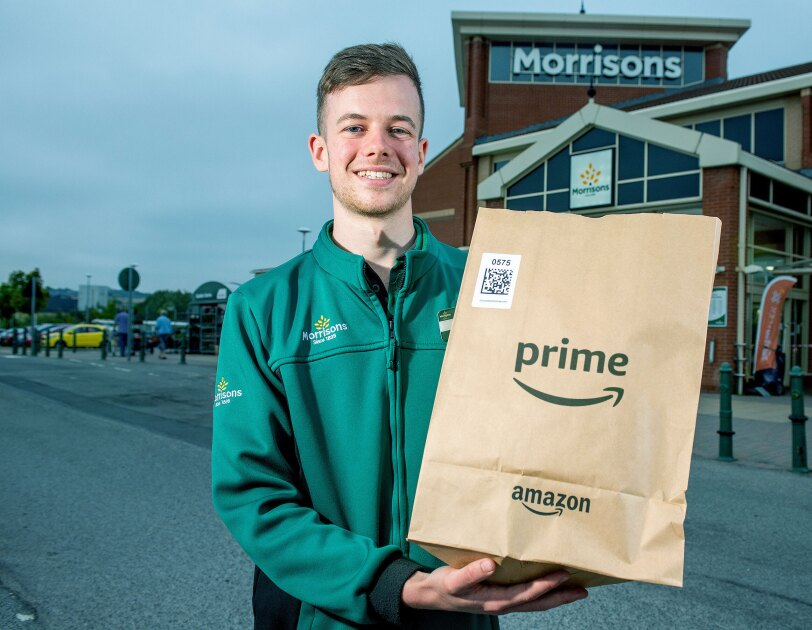 Amazon Prime and Morrissons