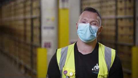 How Amazon prioritises health and safety while fulfilling customer orders.