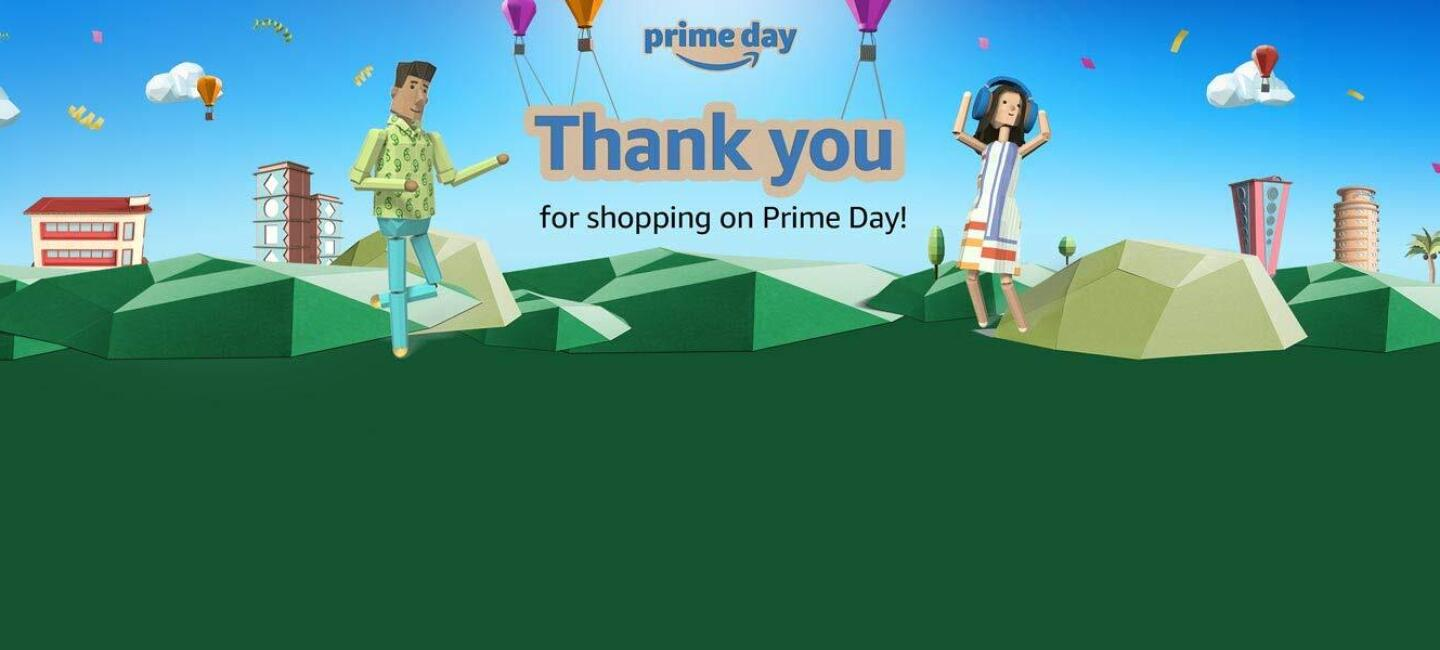 Thank You Prime Day Amazon India