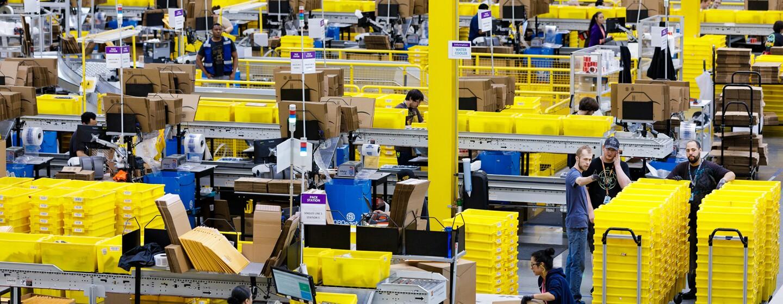 Centri di distribuzione di Amazon