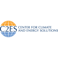 Logo of the Center for Climate and Energy Solutions, an Amazon Sustainability partner