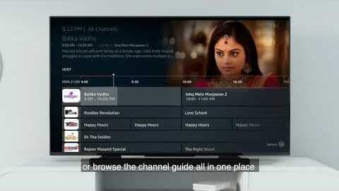 Introducing Live TV on Fire TV in India