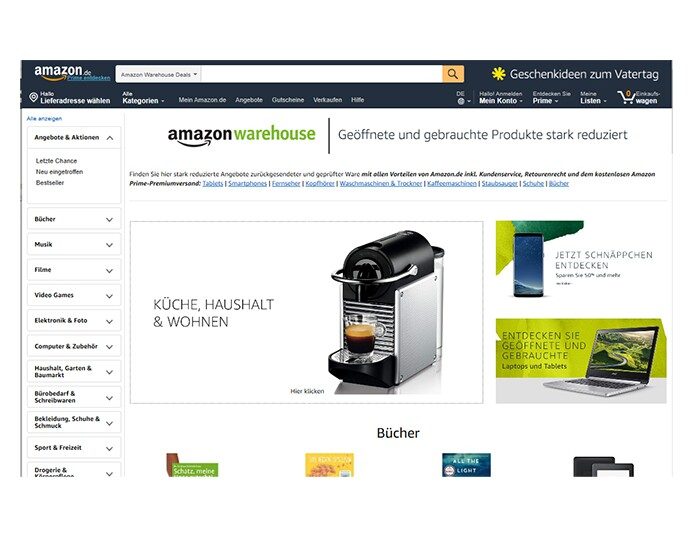 Was passiert mit Retouren bei Amazon