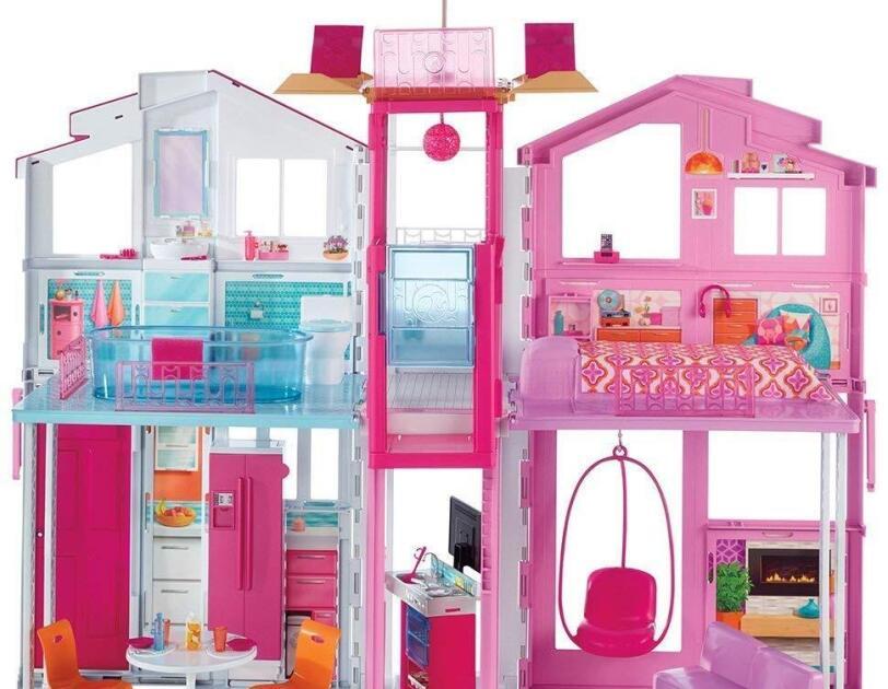 Abbildung des Barbie Stadthauses, erhältlich auf Amazon.de.