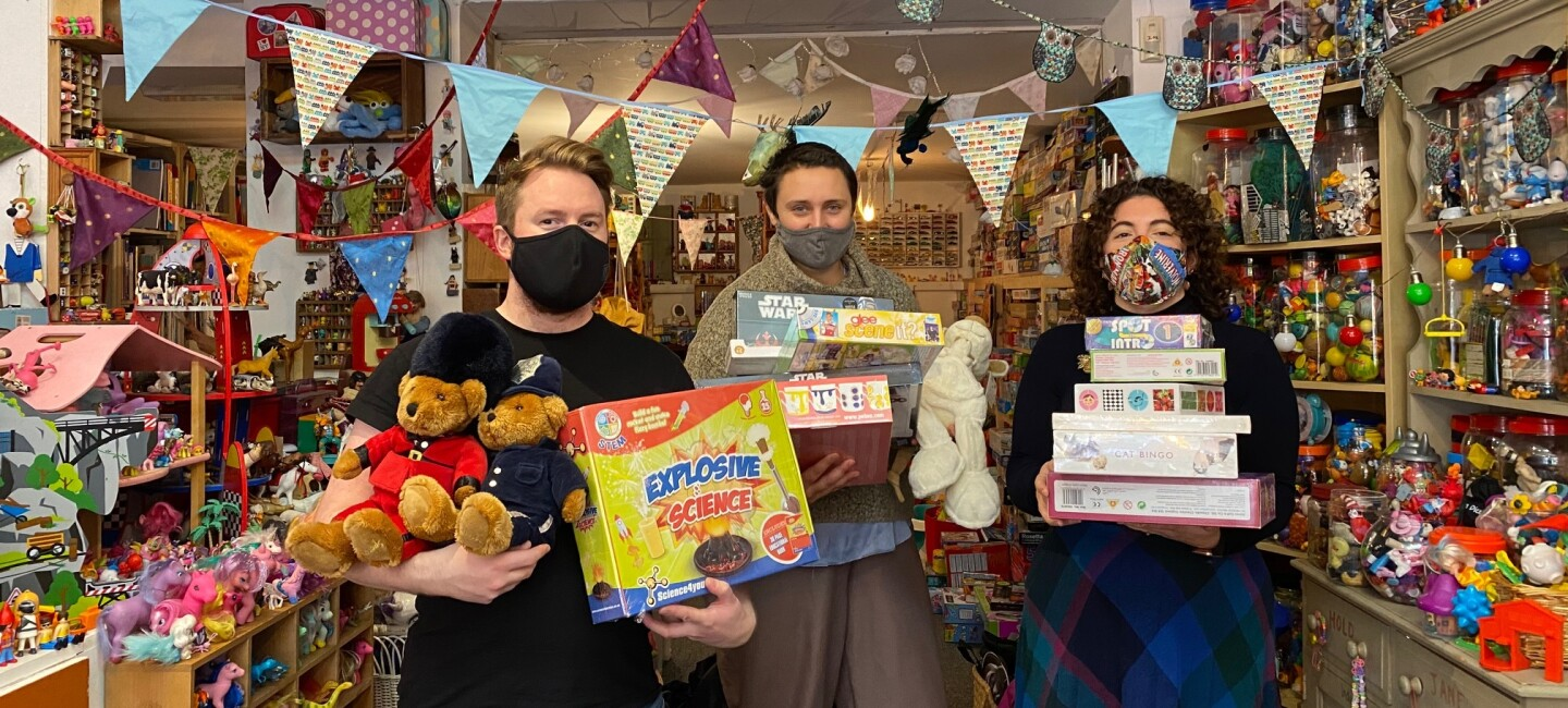 The TOY Project charity raising and donations