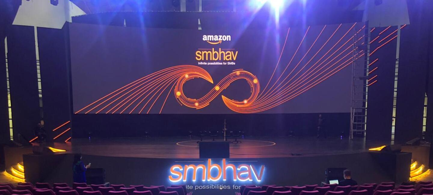-Smbhav 2020 - a pic of the stage