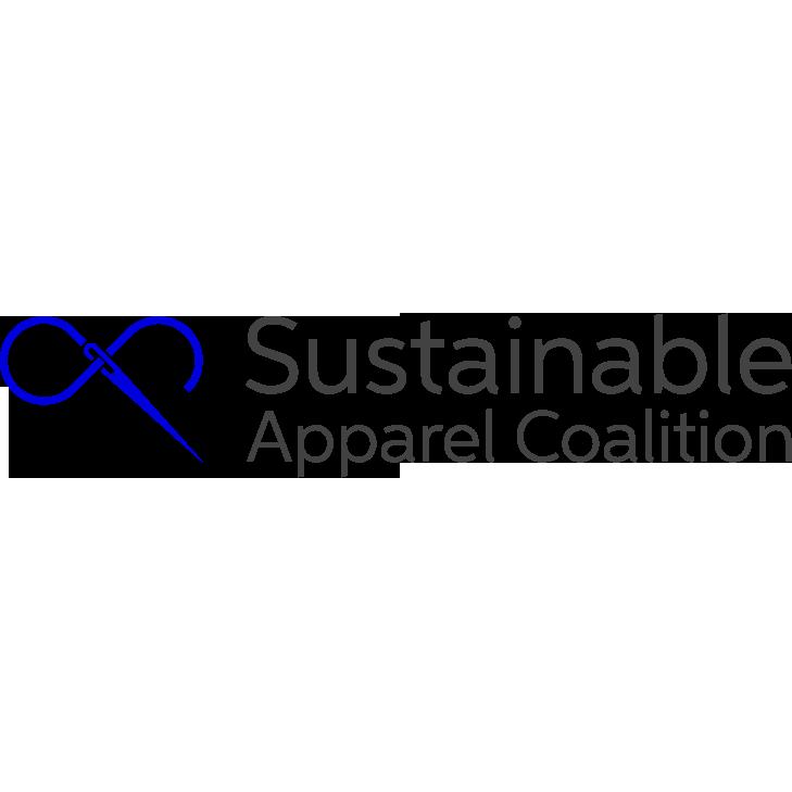 Logo of the Sustainable Apparel Coalition, an Amazon Sustainability partner