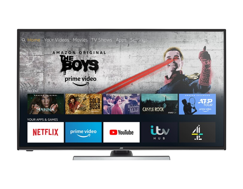JVC Fire TV Edition Smart TV