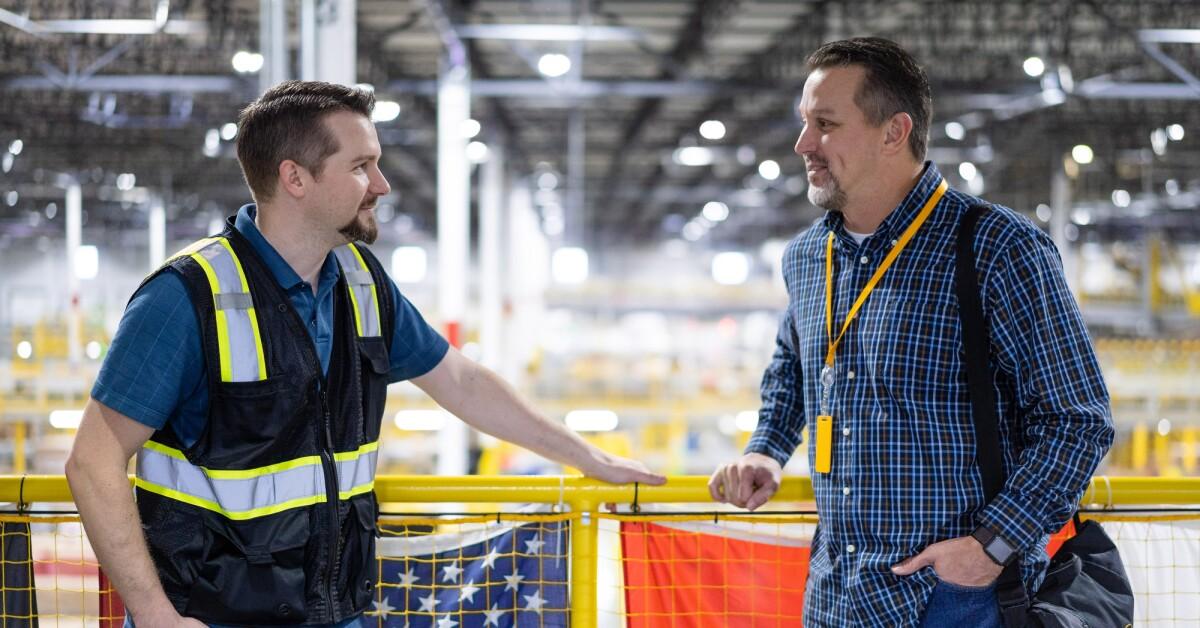 Amazon Fulfillment: Military hiring
