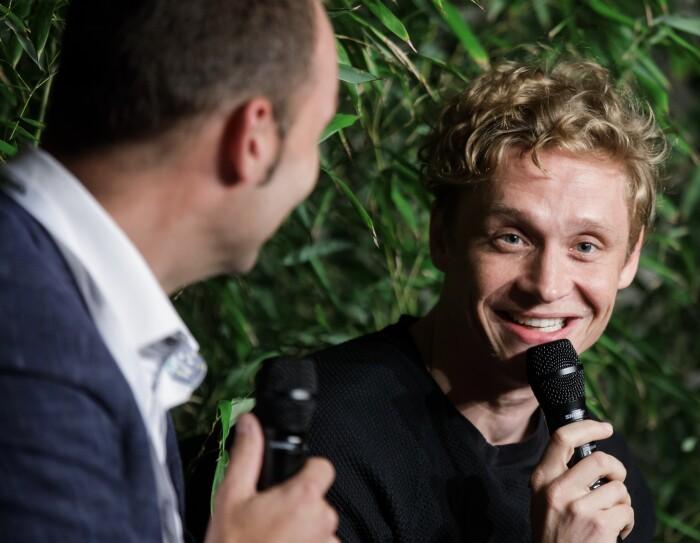 Matthias Schweighöfer bei der Amazon Academy 2016.