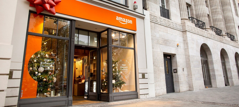Amazons erster Weihnachts-Pop-up Store in Berlin am Kurfürstendamm in Berlin.