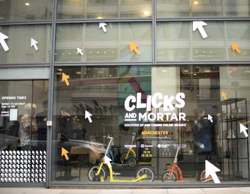 Clicks & Mortar store in Manchester