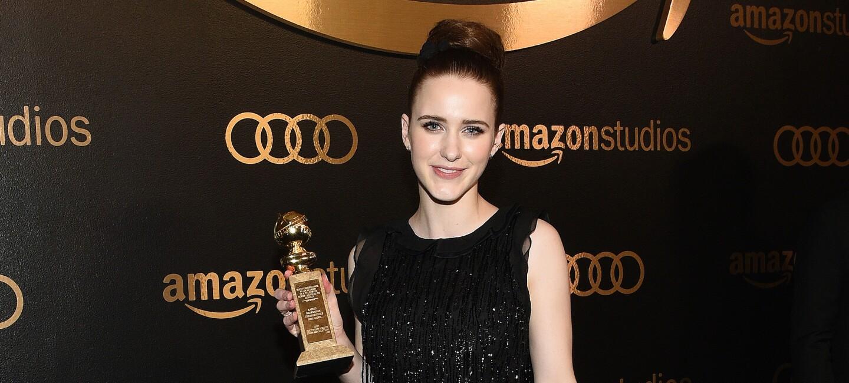 Rachel Brosnahan at Golden Globes