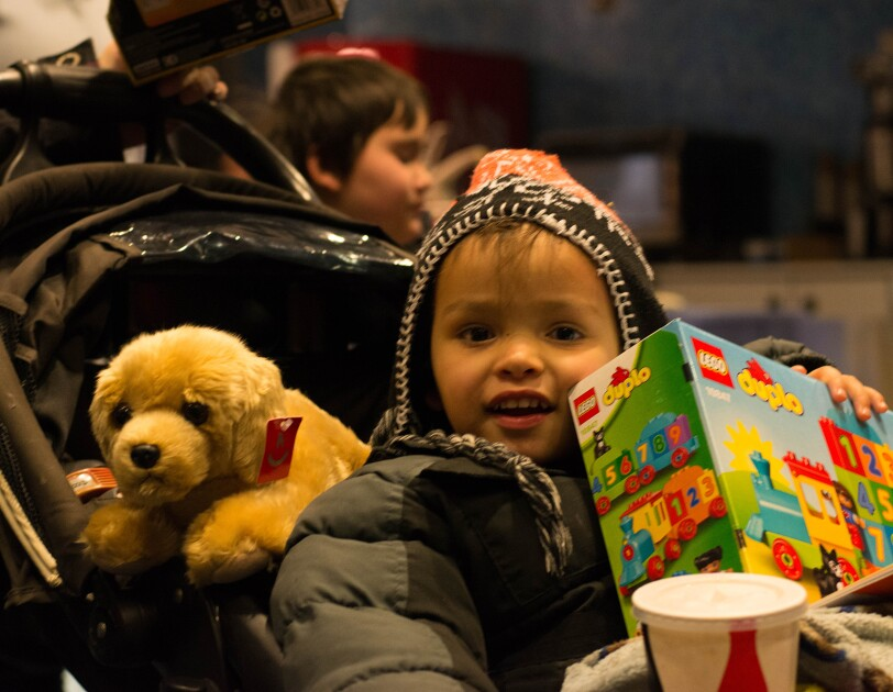 Amazon brings families in need to the movies