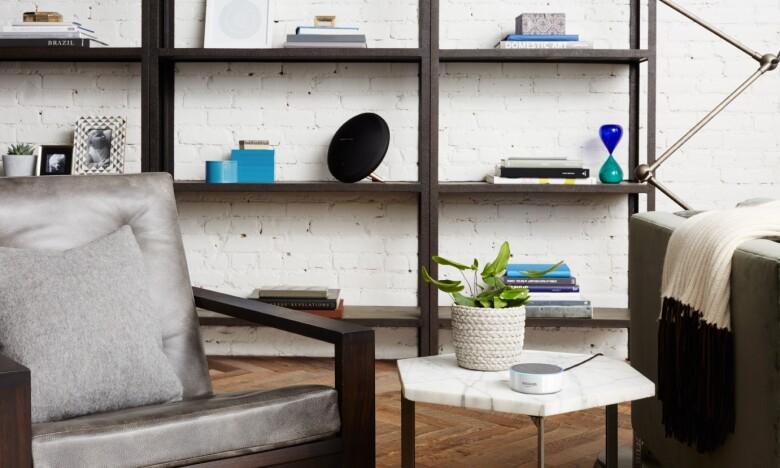 Echo Dot, White, Living Room_enviro.jpg