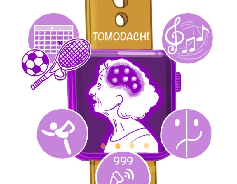 Tomodachi team from Greenford High School