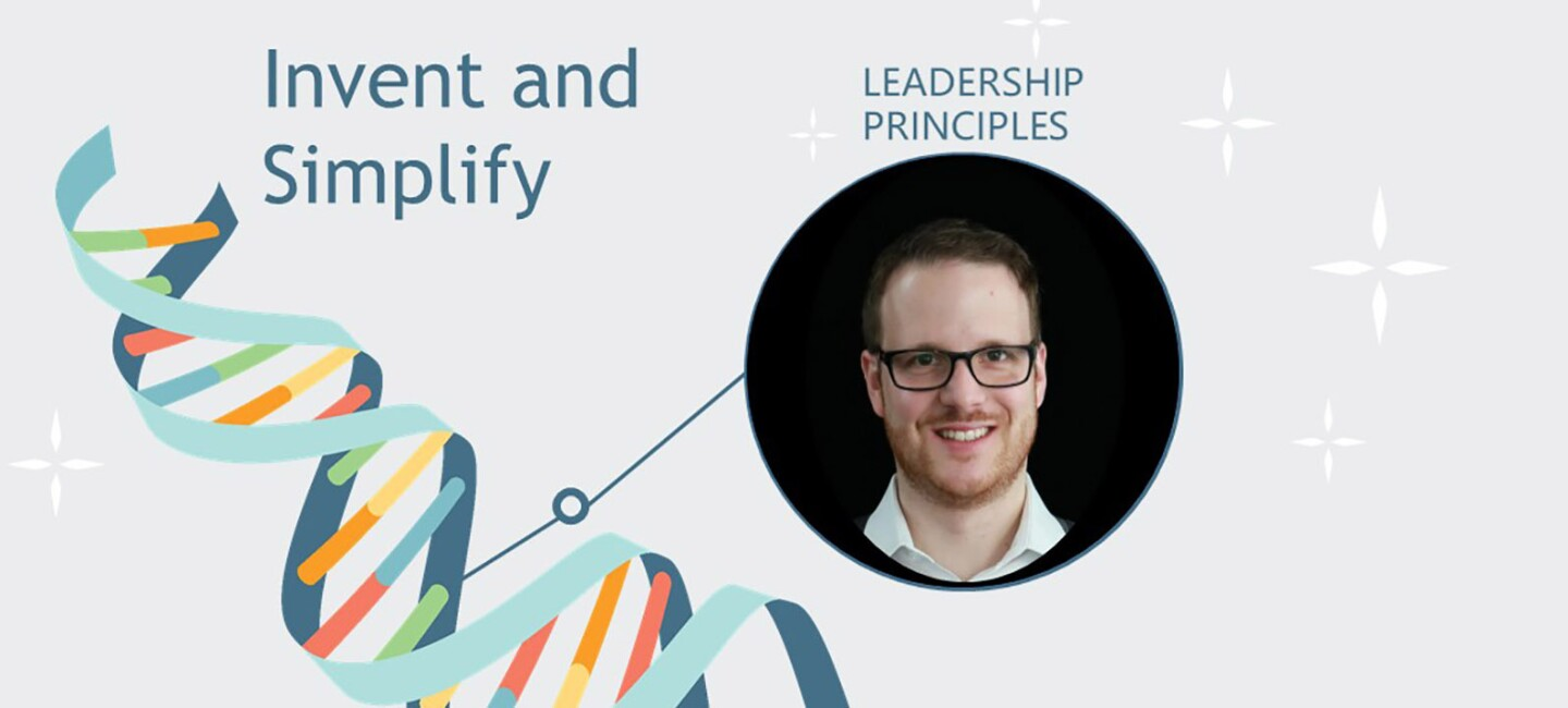"Marc Heller über das Leadership Prinzip ""Invent and Simplify"""