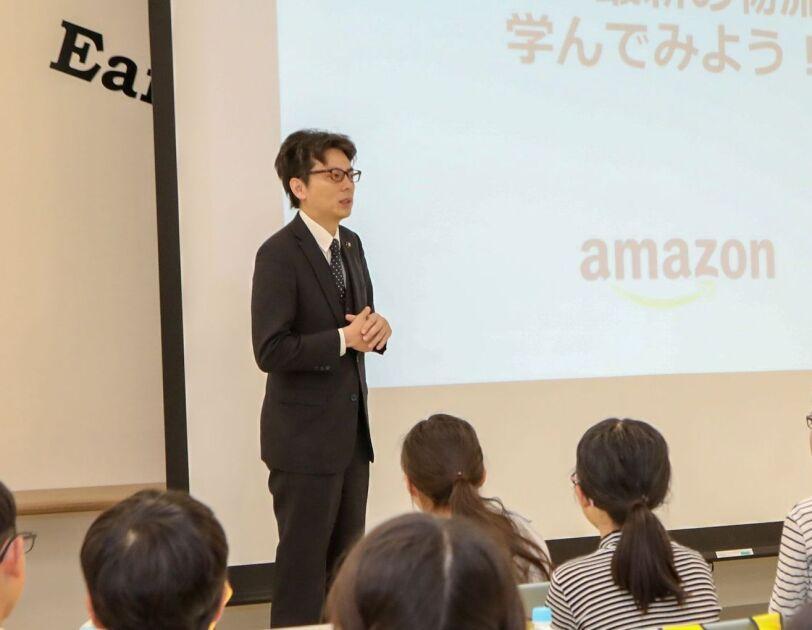 最先端の物流センター「茨木FC」が小学生にロボット技術を公開