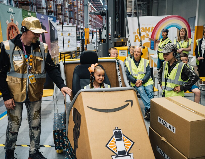 Amazon Goes Gold Event - Doncaster