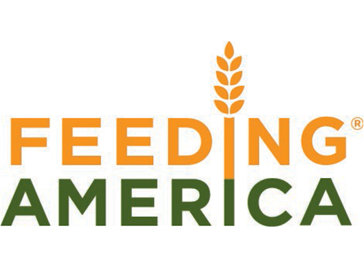 Feeding America logo on a white background.