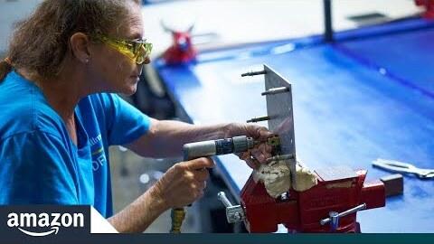 Warehouse job leads to aerospace career