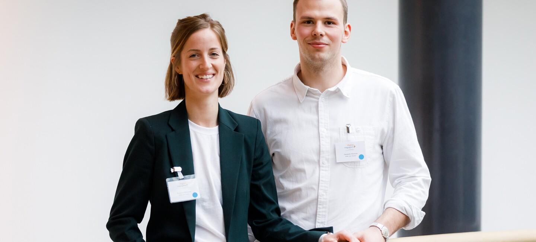 Hendrik Hinrichs und Kirsten Hillebrand bei digital.engagiert 2018