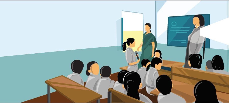 Alexa in Warud school
