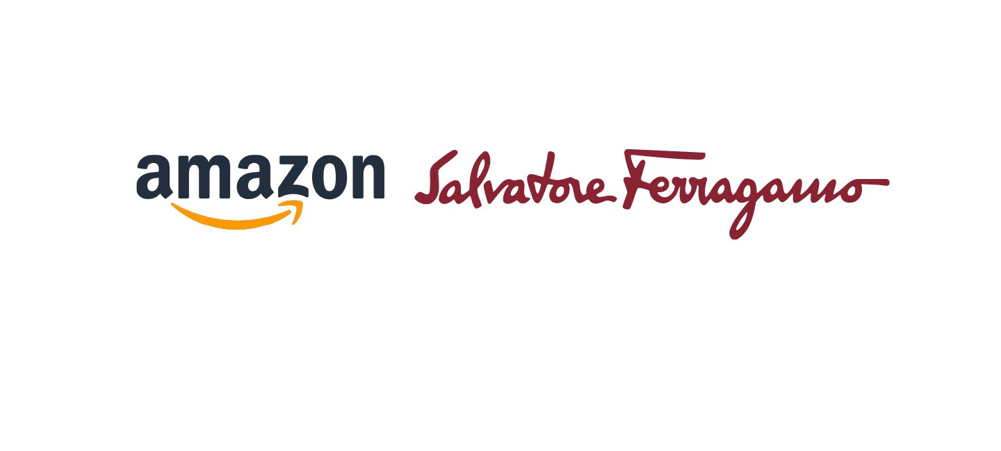 Amazon and Ferragamo logos for US Joint Lawsuit header image