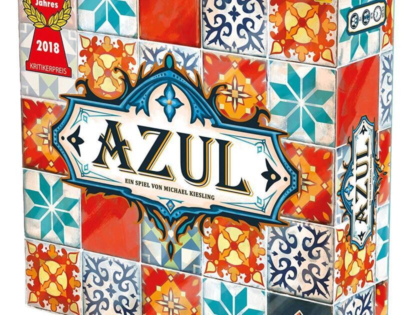 Abbildung des Brettspiels AZUL von Pegasus, erhältlich auf Amazon.de.