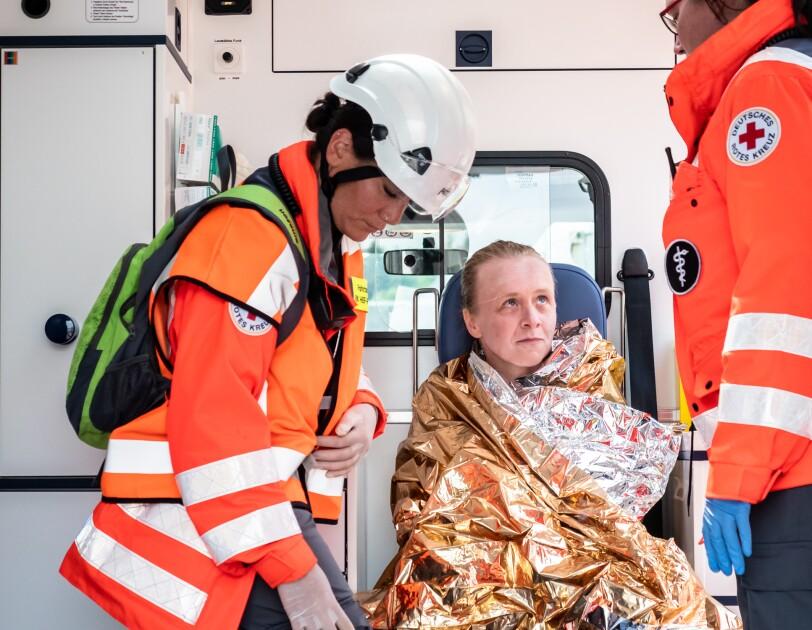 FRA3 Rettungsübung vermeintliche Opfer