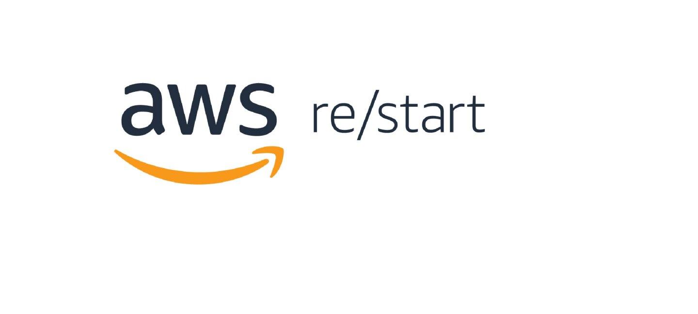 Logo of the Amazon Web Services program called re/Start