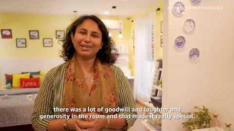 Amazon Festive Yatra & the Joy Of Giving