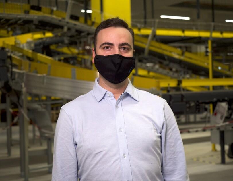 Rafał Zuchewicz, doradca pracownika ds. HR w centrum logistycznym Amazon w Gliwicach