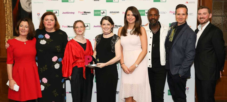 Pink News Award winners - National Trust