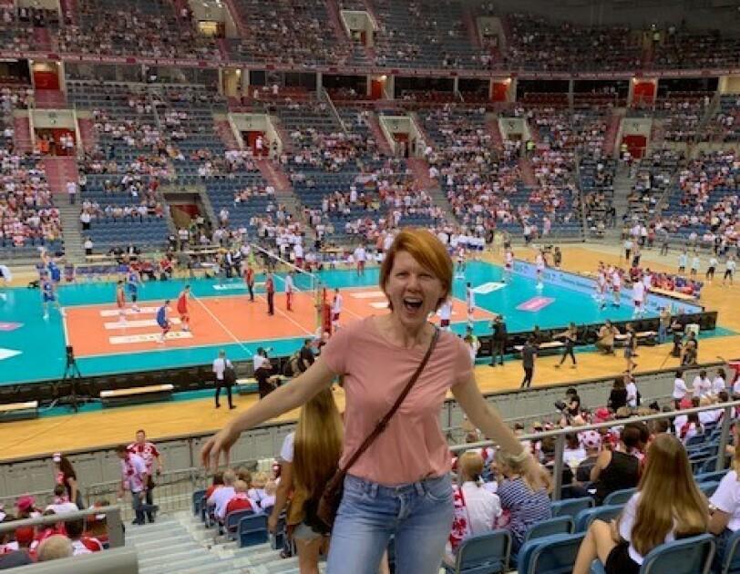 Marta Łęczycka, Senior Operations Manager w centrum logistycznym Amazon w Sosnowcu