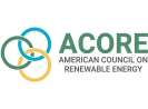ACORE: American Council on Renewable Energy logo on white background.
