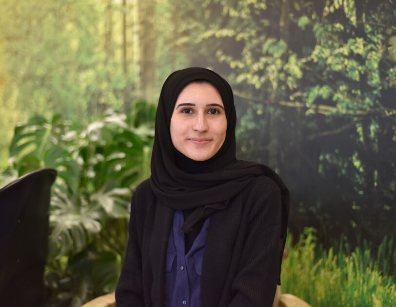 Javeriyah on the AWS programme