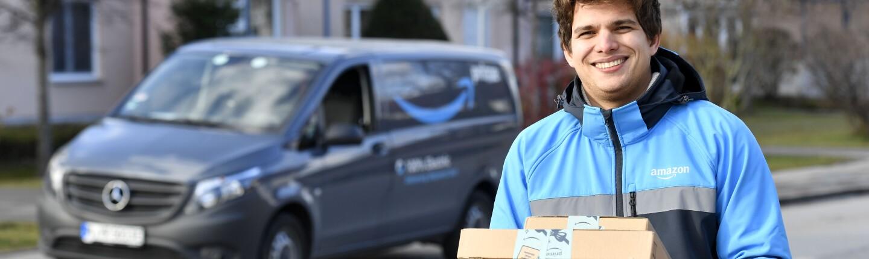 Amazon E-Scooter und E-Vito E-Cars