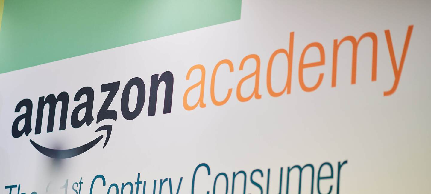 Amazon Academy 2018 logo image.