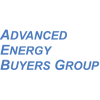Logo of Advanced Energy Buyers, an Amazon Sustainability partner