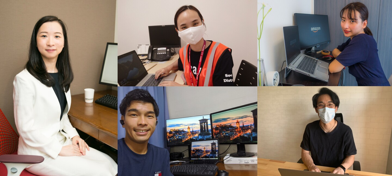 Amazonの2020年4月新卒社員たち